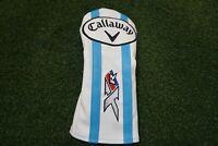 New Callaway Golf Ladies Xr16 Blue/White Fairway Wood Headcover Head Cover New