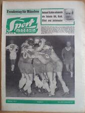 SPORT MAGAZIN KICKER 36A - 28.8. 1961 * Pokal Werder-KSC 3:2 Nürnberg-Dublin 5:0