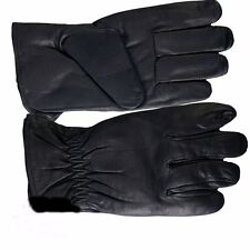 100% Leather Waterproof Riding Gloves - Medium - biker sports motorcycle cycling