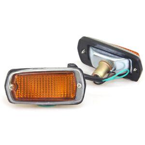 FIT DATSUN 510 120Y 280Z 240Z 260Z S30 SUNNY 70-78 SIDE MARKER LIGHT SET NEW L/R
