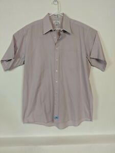 Enro Shirt Size 18 Men's Tall Half Sleeve Classic Poplin