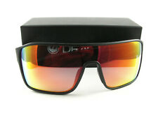 Dragon Alliance Sunglasses Tolm Matte Black Red Ion Authentic Pre-Owned