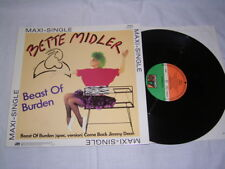 "12"" - Bette Midler Beast of Burden (Rolling Stones Coverversion) + 2 Track # 2"
