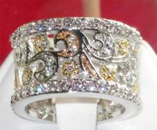 Diamant Modeschmuckstücke aus Sterlingsilber mit Cubic Zirkonia-Hauptstein