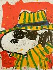 """Tom Everhart """"It's the Hat That Makes the Dude""""  """"SNOOPY""""  Lithograph S/N  + COA"""