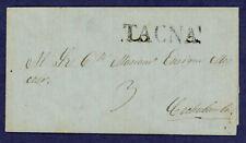 Peru 1846 Prephilatelic Cover Tacna to Cochabamba, Bolivia