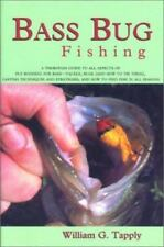 Bass Bug Fishing by William G. Tapply (Hardcover)