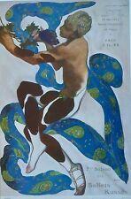 Leon Bakst, Nijinsky as the Faun from L'Apres -midi d'un faune cover, Ballet.