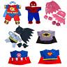 "TEDDY BEAR CLOTHES SUPERHERO Batman Spiderman Superman - 8""-10"" 20cm Teddy Bears"