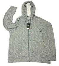 Nke Dr-Fit Training hooded hoodie - grey adult medium