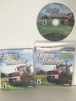Farming Simulator (Sony PlayStation 3, 2013) COMPLETE MINT DISC FREE SHIPPING!