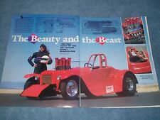 """1927 Ford Model T Roadster Vintage Article """"Beauty & the Beast"""" Mendy Fry"""
