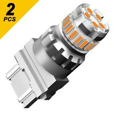 AUXITO 3457 3757 3157 LED Amber Turn Signal Parking DRL High Power Light Bulbs F