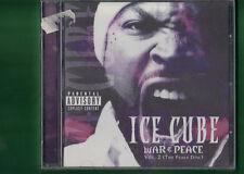 ICE CUBE - WAR E PEACE VOL.2  CD NUOVO SIGILLATO