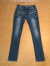 eni Classic Skinny Jeans Sz 3 x 32 Length Stretch Denim Jeggings CUTE