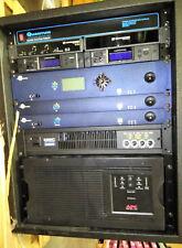 Video Audio Lowell Cabnet Rack Pro Equipment Gear Case Extron Quantum Tech Amx