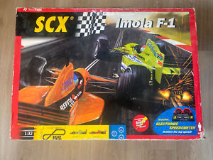 SCX 80460 IMOLA F-1 SLOT CAR SET 1:32 Arrows Minardi Scalextric Compatible