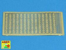 1/16 ABER 16053 TRACK CASTING NUMBER for GERMAN PANZER 38 (t) for PANDA Kit