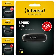 Clé USB Intenso Speed Line USB 3.0 cle rapide 16 32 64 128 256 Go Gb Photo Vidéo