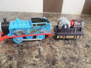 TRACKMASTER THOMAS  - THOMAS SPECIAL LIVERY AND TRUCK  UK POST