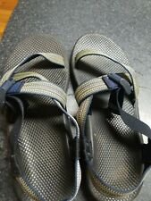Chaco Mens Size 13 Textile Strappy Sport Sandals USA Made Shoes
