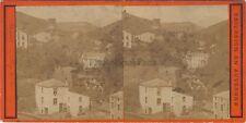 Royat Auvergne Photo Stereo Vintage Albumine ca 1875