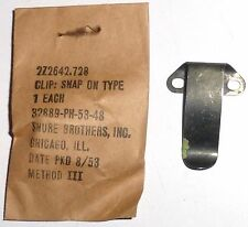 BC728 / SCR-593: Clip snap - Spare parts NOS NIB 2Z2642.728