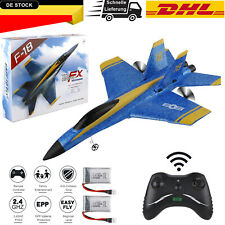 F-18 ferngesteuertes RC Flugzeug  2,4 GHz 3,5 Kanal RTF Flugzeug Flugbereit