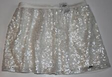 NWT HOLLISTER by Abercrombie Womens Embellished Sequin Skirt S