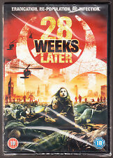 28 WEEKS LATER (2007) - ERADICATION, RE-POPULATION.. - R2 PAL DVD - NEW & SEALED
