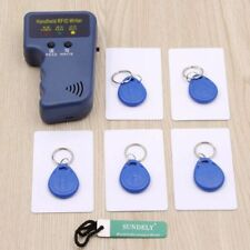 Handheld 125KHz RFID ID Card Copier Reader Writer + 5 Writable Tags 5 Card -uk