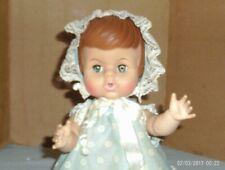 1965 vintage 11 in. soft vinyl/plastic Uneeda baby girl doll