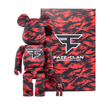Faze Clan X Bearbrick 400% & 100% Set New Free Shipping *Limited Edition*