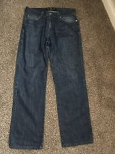"Mens blue jeans size 34"" by Barbour"