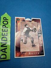 Stouffers Pop Ups Yogi Berra Legends Of Baseball Card