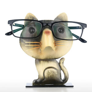 Cat Shaped Rack Glasses Holder Animal Shaped Spectacle Eyeglass Display Stand