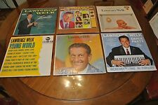 Lot of 6 Lawrence Welk TV Family Sing and Play Songs of Love LP Dance Party More