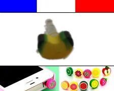 Cache anti-poussière jack universel iphone protection capuchon bouchon FRUIT 3