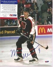 Mike Modano Signed 8x10 Photo PSA DNA COA Dallas Stars Autographed b