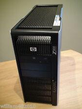 HP Z800 SuperComputer 2x X5675 96GB 525GB SSD 2TB Quadro 6000 Tesla C2075 Win 7
