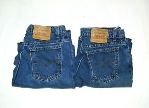 Vintage Levis Orange Tab 950 922 Mom Jeans High Waist Relaxed Tapered USA Sz 16W