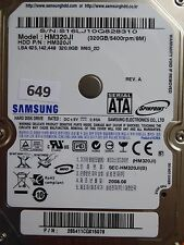320gb Samsung hm320ji | 285411cq815078 | 2008.08 #649