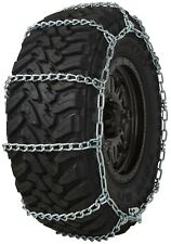 Quality Chain 3229 Wide Base Non-Cam 7mm Link Tire Chains Snow SUV 4x4 Truck