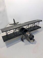 Metal Biplane 22� Wingspan
