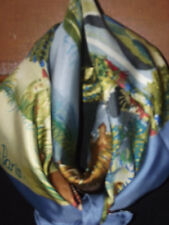 "NEW HERMES 35"" SILK SCARF -  NUBA MOUNTAIN"