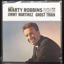 "Marty Robbins - Jimmy Martinez / Ghost Train 7"" VG+ Vinyl 45 Columbia 4-42008"