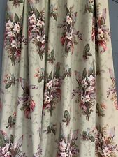 """Custom Lined French Country Style Pleated Weighted Drapes.49""""x84"""""""