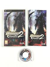 Jeu Warriors Orochi 2 Sur Console Sony PSP