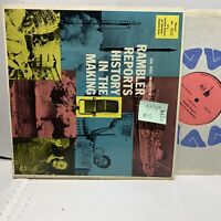 Rambler Reports History In The Making RCA 6176 #3055 VG+/VG(+) Rare