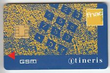 TELECARTE GSM SIM COLLECTOR .. FRANCE ITINERIS FNAC HUTCHINSON CHIP/PUCE UT/TBE